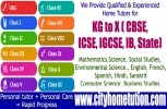 CBSE ICSE Home Tuitions in Banjara Hills