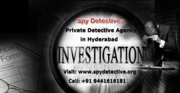 Private Detective Agency in Hyderabad - Spy Detective